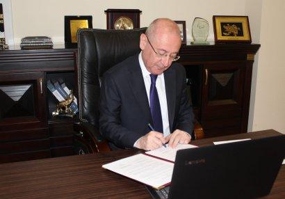 Milli Abilimpiya Federasiyası ilə UNICEF arasında memorandum imzalandı