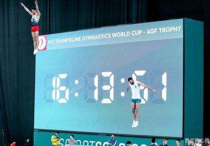 Gimnastlarımız 3 medal qazandı