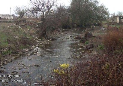 Ağdam rayonunun Çuxurməhlə kəndi - VİDEO