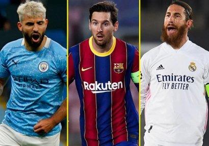 Gələn yay azad agent olacaq 20 ən güclü futbolçu - SİYAHI