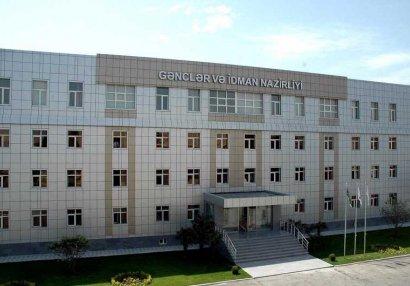 Gənclər və İdman Nazirliyi Operativ Qərargaha üçüncü dəfə müraciət etdi