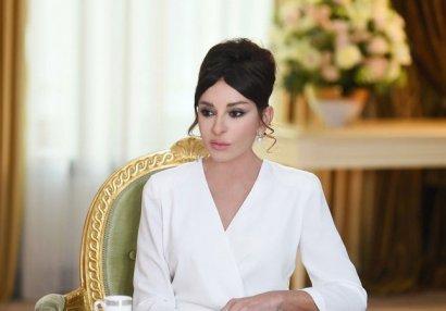 Mehriban Əliyeva yenidən Azərbaycan Gimnastika Federasiyasının prezidenti seçildi