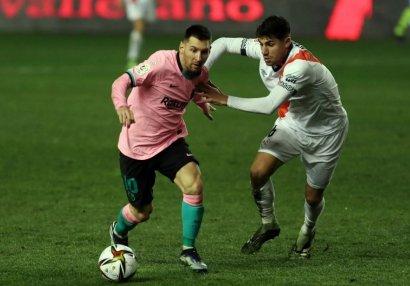 Messi yeni rekorda imza atdı