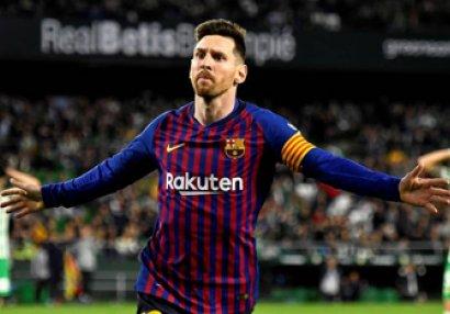 Messi bunu 300-cü dəfə bacardı
