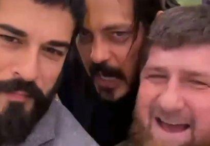 Zabit Səmədov Burakı Çeçenistan Prezidenti ilə görüşdürdü - VİDEO