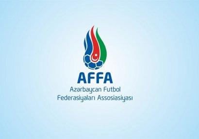AFFA növbəti dəfə Operativ Qərargaha müraciət etdi