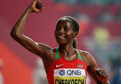 Keniyalı idmançı 5 kilometrə qaçış üzrə dünya rekorduna imza atdı