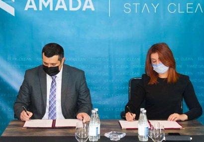 AMADA ilə ictimai birlik arasında memorandum imzalandı - FOTOLAR