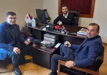 Elnur Məmmədli Türkiyədə daha bir görüş keçirdi
