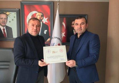 Assosiasiya rəsmilərinin Türkiyədə görüşləri davam edir