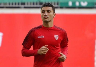 Araz Abdullayev sonda yada düşdü, komandası...