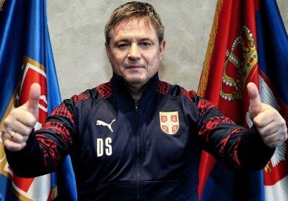 Serbiya millisi sabiq oyun qurucusuna tapşırıldı