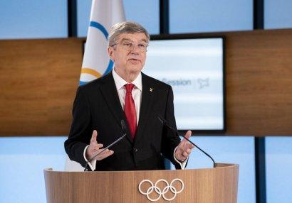 Bax ardıcıl 3-cü dəfə IOC-un prezidenti seçildi