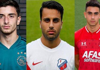 AFFA Niderlandda çıxış edən 3 futbolçunu nəzarətə götürdü: Tunahan, Özcan, Emir...