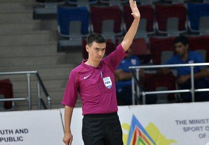 Azərbaycanlı hakimlər AÇ-2022-nin oyununda