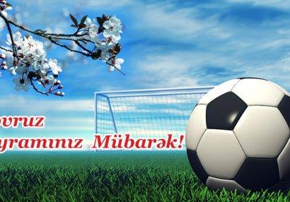 Futbolçuların Novruz təbriki - VİDEO