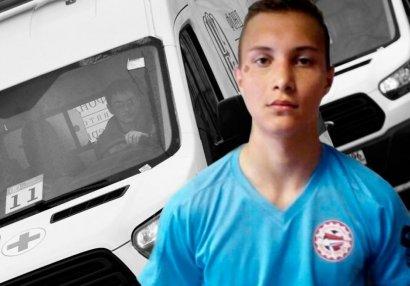18 yaşlı futbolçu oyun zamanı öldü