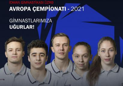 Avropa çempionatında iştirak edəcək gimnastlarımız