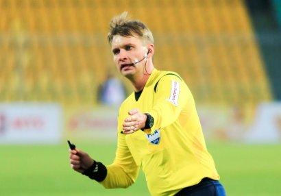 UEFA rus referini futboldan kənarlaşdırdı