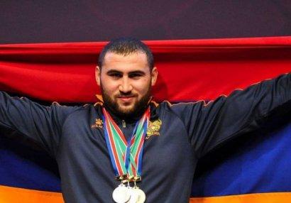 Ermənistanlı dünya çempionuna cinayət işi açıldı