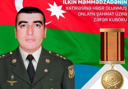Şəhid İlkin Məmmədzadənin xatirəsinə beynəlxalq turnirin açılışı olub - FOTOLAR