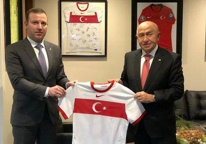 """TFF başqanı: """"Azərbaycanlı futbolçuları Türkiyə yığmasında oynadarıq"""""""