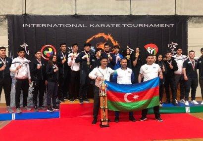 Karateçilərimizdən beynəlxalq turnirdə böyük uğur