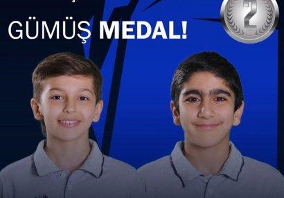 Azərbaycanlı gimnastlar gümüş medala layiq görüldü