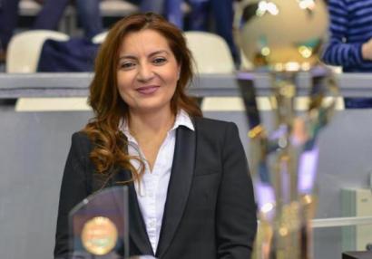 Nərgiz İsmayılova Avropa çempionatına təyinat aldı