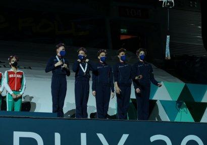 Bakıdakı Dünya Kubokunda medalların dronla verilmə səbəbi açıqlandı - VİDEO