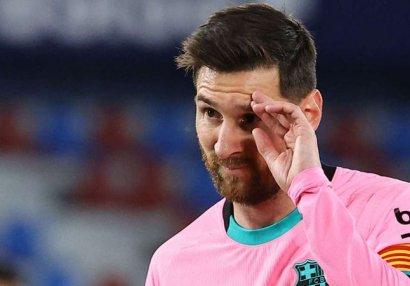 Messi üçün mövsüm bitdi