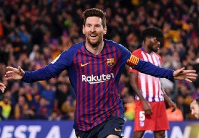 Messi ardıcıl 5-ci dəfə bombardir oldu
