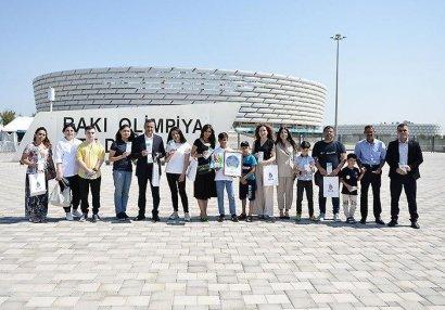 AFFA uşaqlara AVRO-2020-nin biletlərini hədiyyə etdi