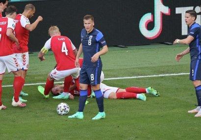 Danimarka - Belçika oyunu 10-cu dəqiqədə dayandırılacaq - SƏBƏB