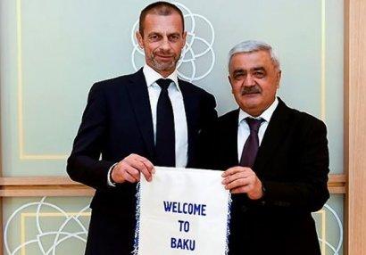 AFFA və UEFA prezidentləri görüşdü