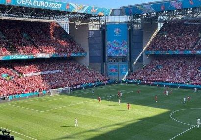 Danimarka - Belçika oyunu 10-cu dəqiqədə dayandırıldı - SƏBƏB