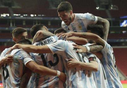 Amerika Kuboku: Argentina Uruqvaya qalib gəldi - VİDEO