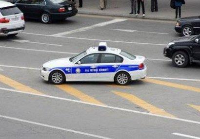 Yol polisi Türkiyə -İsveçrə oyunu ilə əlaqədar vətəndaşlara müraciət etdi