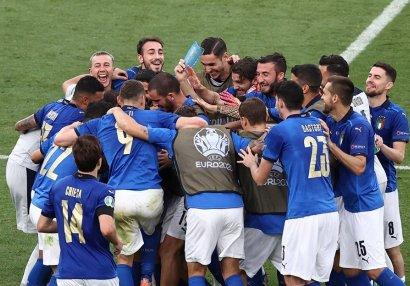 İtaliya millisi Avropa çempionatlarında ilkə imza atdı