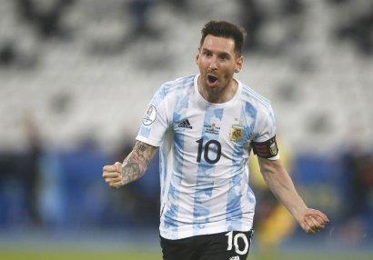 Messi Maskeranonun rekordunu təkrarladı
