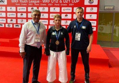 Karateçilərimiz Xorvatiyada 8 medal qazandı