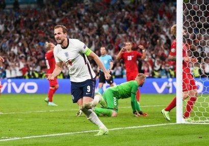 Кейн — лучший игрок полуфинального матча Евро-2020 Англия — Дания