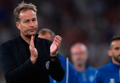 Тренер датчан считает спорным пенальти в ворота команды в полуфинале Евро против англичан