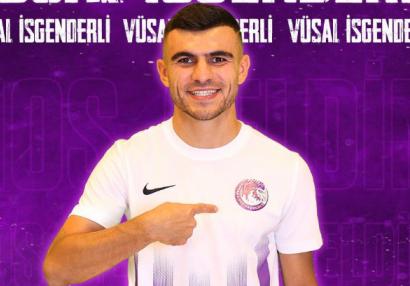 Millimizin futbolçusu yeni klubundan danışdı: