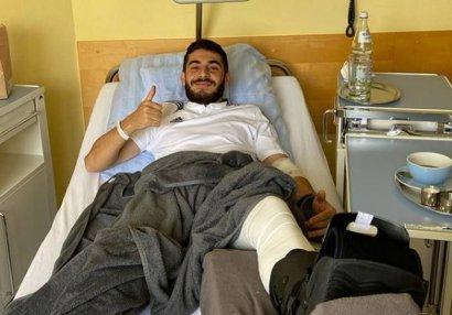 """""""Qarabağ""""ın müdafiəçisi Almaniyada əməliyyat olunub"""