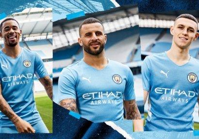 «Манчестер Сити» представил новую домашнюю форму