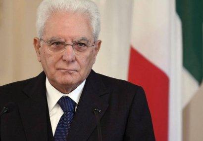 İtaliya prezidenti milli üzvlərini ali ordenlə mükafatlandırdı