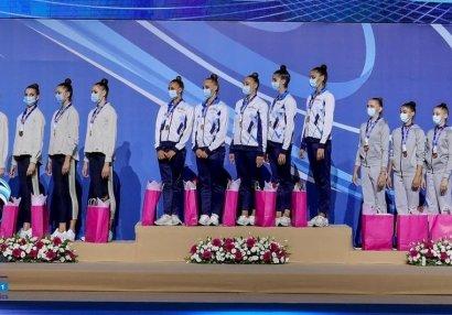 Gimnastlarımızdan Olimpiada öncəsi