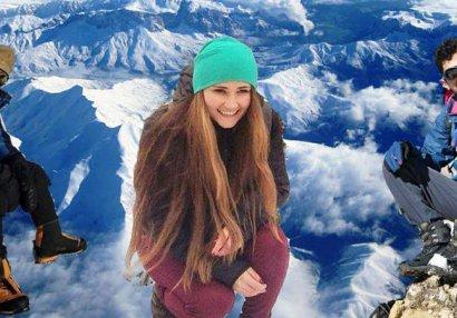 Tufandağda alpinistlərin xatirəsinə qoyulan bürünc lövhə oğurlandı - FOTO