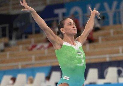 46 yaşlı gimnastika əfsanəsi karyerasını bitirdi